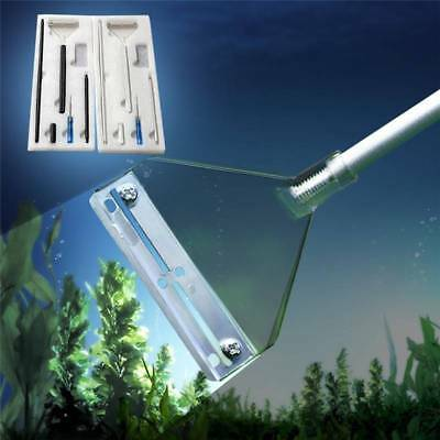 Aquarium Fish Plant Tank Glass Aluminum Alloy Algae Scraper Blade Cleaner Tools