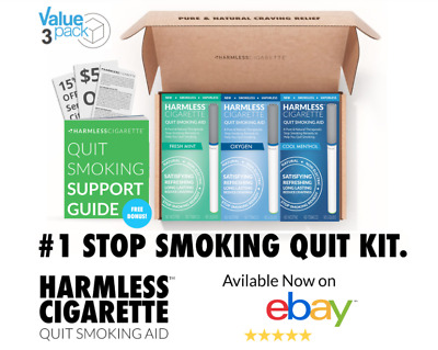 Harmless Cigarette / Quit Smoking Aid + Free Stop Smoking Support Guide.