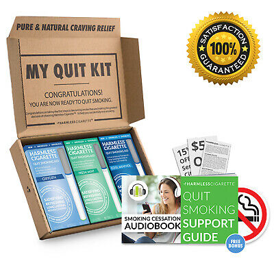 Quit Smoking Aid & Natural Stop Smoking Remedy to Help Stop Cravings (3 Pack)