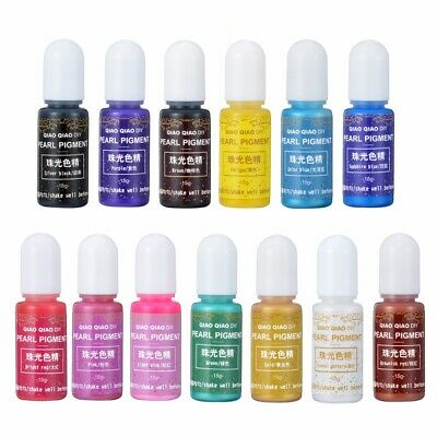 13 Color Pigment UV Gel Polish Solid Glue For Silicone Resin Mold Jewelry Making