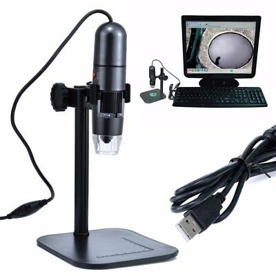 10MP 1000X 8 LED USB2.0 Zoom Digital Microscope Hand Held Biological Endoscope