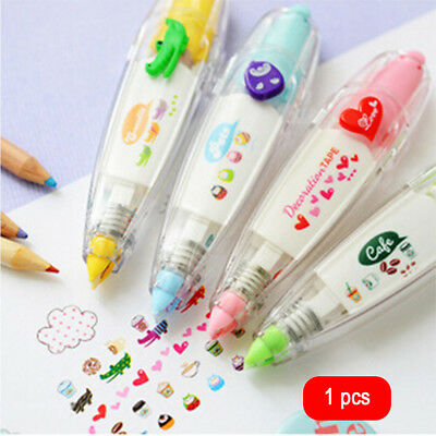 Cute Korean Cartoon Correction Tape Study Stationery Office School Supplies Gift
