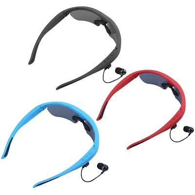 Bluetooth Smart Sunglasses Glasses Headphone Music Headset Stereo Earbud w/ MIC