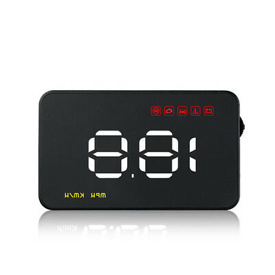 """Uinversal Car GPS HUD Head Up Display 3.5"""" LCD OBD2 Overspeed Warning System"""