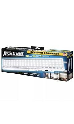 Light Bar Bell + Howell 60 LED Rechargeable Super Bright No batteries needed