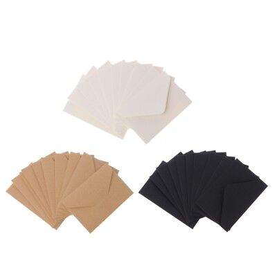 50pcs Craft Paper Envelopes Vintage European Style Envelope For Card Gift NEW