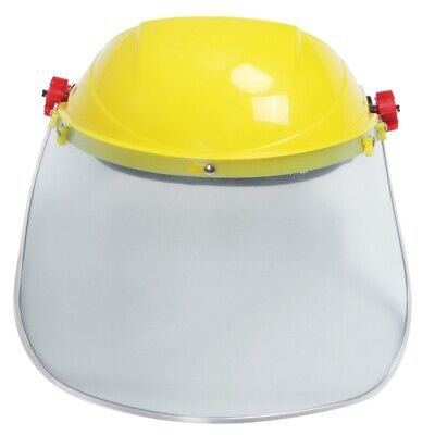 1x Clear Safety Grinding Face Shield Screen Mask For Visors Eye Face Protec T8R5