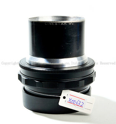 Ex Som benoist berthiot 105mm f/1.9 lens modified to Hasselblad mount  #X00632