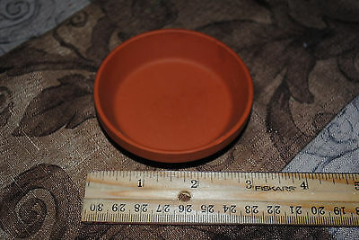 """Lot of 25 Terra Cotta saucers from Germany 3"""" across CRAFTS GARDENING Weddings"""