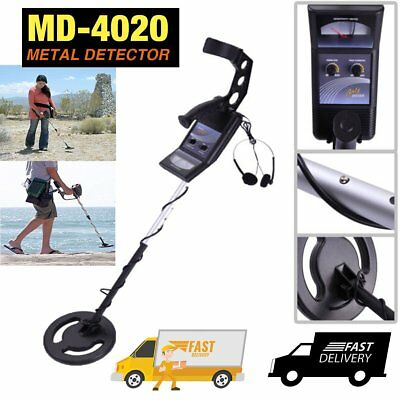 MD-4020 Waterproof Metal Detector Kit Deep Sensitive Hunter Coil Gold Search HMM