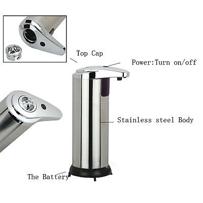 Automatic Plastic 240/420ML Touchless IR Sensor Liquid Soap Dispenser Z9