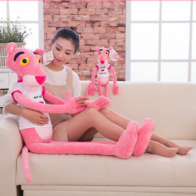 "100cm/39"" Animal Cute Pink Panther Plush Stuffed Doll Baby Kids Cotton Toy Gift"