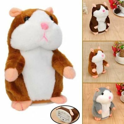 Adorable Toy Mimicry Pet Speak Talking Record Hamster Mouse Plush Child Kid Toy