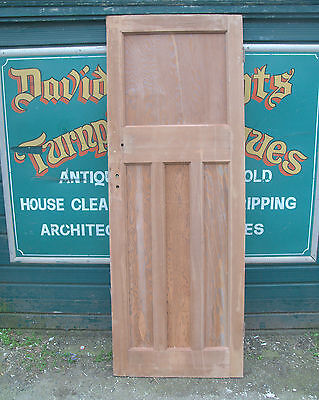 3851  Art Deco 1930's classic stripped pine door