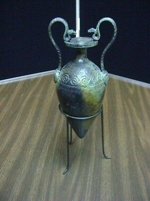 Bronze Amphora Vase - Ancient Greek Art - Lost Wax Bronze Method-Museum Replica