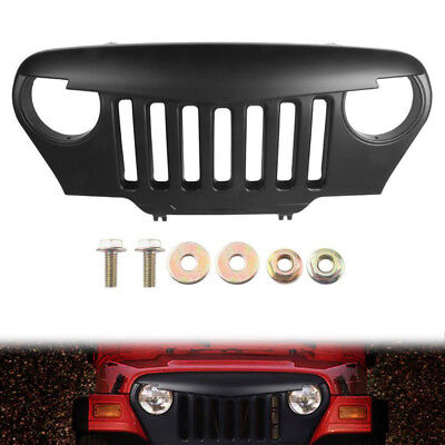 Angry Birds Grill Front Grille For Jeep Wrangler TJ 1997-2006 Angry Bird Grill