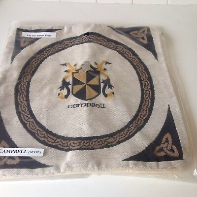 Celtic Campbell Clan Pillow Form NWT