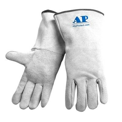 New Welding Gloves Flame Retardant Metalworking Gloves Worker Pro Hand Equipment