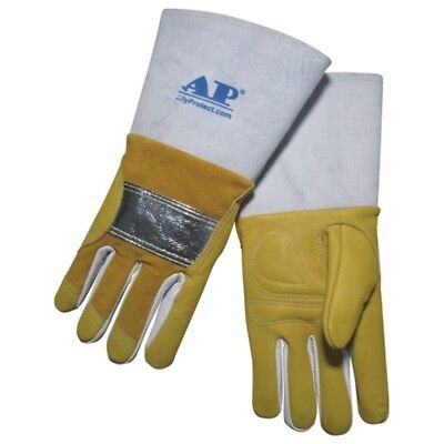 New Welding Gloves Grain Leather Abrasion-resistant Gloves Soldering Safety Gear