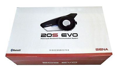 Sena 20S Evo Motorcycle Bluetooth Communication System- Single 20S-EVO-01