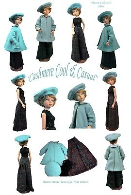 Cashmere Cool & Casual by Chassie's Classics for Ellowyne, Delilah Noir, etc