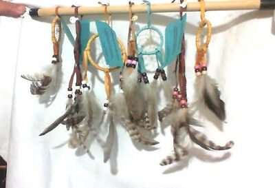 Lot of Seven Certificated Of authenticity  native American  Dream Catchers