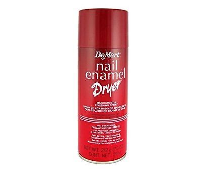 Demert Nail Enamel Dryer Spray 7.5 oz
