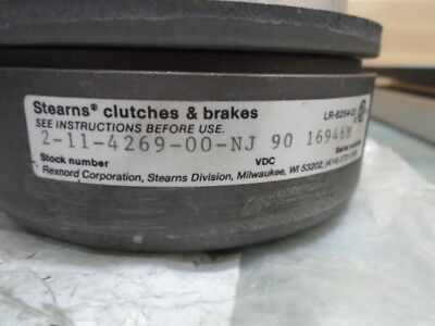 Stearns Clutches & Brakes 2-11-4269-00-NJ, 90 VDC, ELECTROMAGNETIC CLUTCH