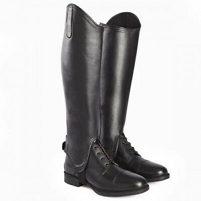 Mark Todd Leather Competition Gaiters (chaps) **REDUCED** Rrp £80