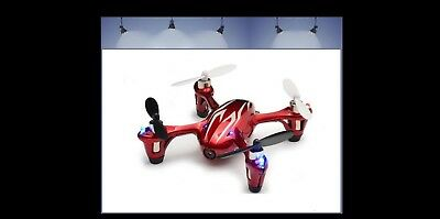 Hubsan H107C HD X4 4 Ch 2.4Ghz Quadcopter + Camera with Memory Card: Micro SDHC
