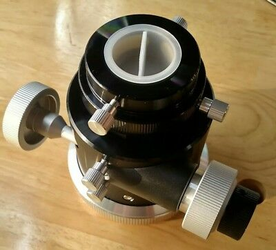 "GSO Telescope Focuser - 10:1 Dual Speed 2"" Reducer for 6"" or 8"" R/C - New in Box"