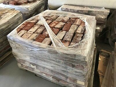 Huge Lot Of Antique Solid Bricks - Palletized (500 to the pallet) !!!