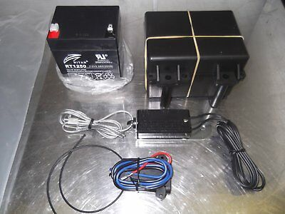 Trailer Breakaway Kit w/ Weatherproof Box/ New Battery/ Switch and Charger