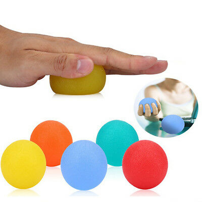 Silicone Hand Exercise Grip Balls Hand Therapy Stress Balls Hand Squeeze Fashion