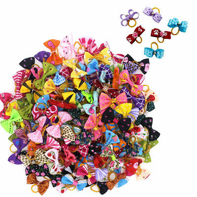 20PCS Pet Dog Hair Bows Accessories Grooming Pearl Dog Cat Hairpin Clips for Dog