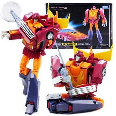 """Transformers Masterpiece MP28 Hot Rodimus 7.1"""" Action Figure New in Box"""