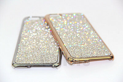 Bling Diamond Case Cover For iPhone X XR XS Max 6 7 8 Plus With Swarovski Elemen