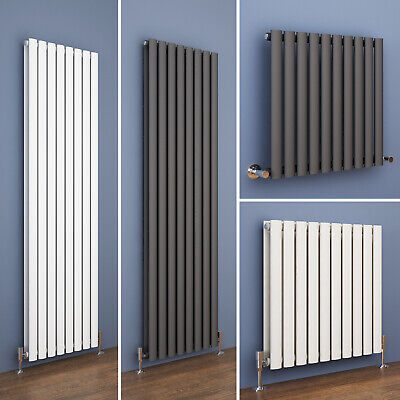 Vertical Designer Radiator Tall Upright Oval Column Panel Central Heating