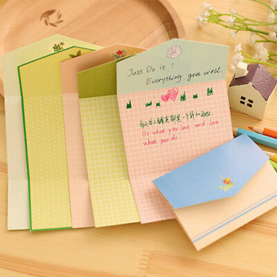 6Pcs/pack Mini Envelope Greeting Cards Postcard Party Invitation Message Cards