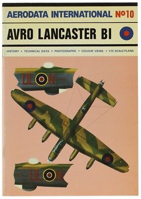 AVRO LANCASTER BI. Aerodata international No. 10. Moyes Philip. 1979
