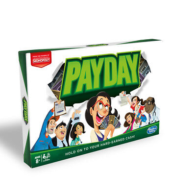 MONOPOLY PAY DAY Family Kids Board Game Hasbro - NEW
