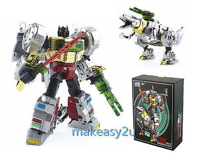 ZHANJIANG Transformers G1 Dinobot Grimlock Voyager MP08 Action Figure Toy New