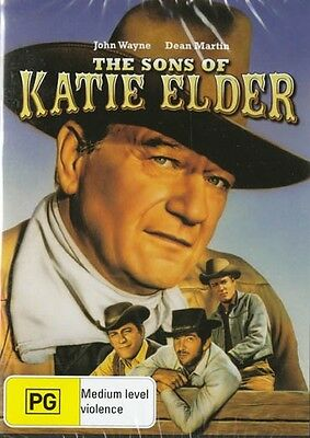 The Sons Of Katie Elder - John Wayne - New R4 Dvd Free Local Post