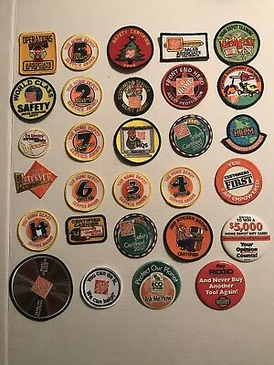 Home Depot Patches Lot )29(