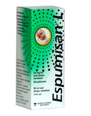 Espumisan L *30ml ANTI COLIC BABY DROPS BLOATING STOMACH ACHES METEORISM
