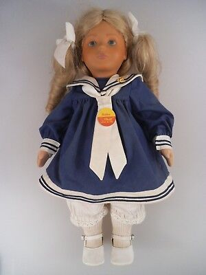 Steiff Puppe Bettina 9207/42 1987 - 1988 42cm (1337)