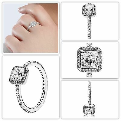 Pandora Timeless Elegance Ring S925 ALE Size 52 FREE GIFT POUCH