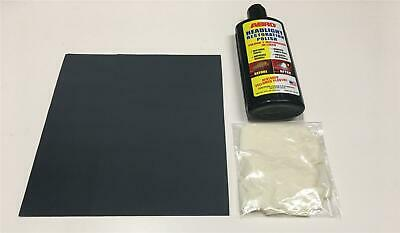 Yellow Driving Lamp Cleaner Restorer Kit with Gloves and Essentials For Saab
