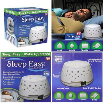 Sleep Easy Sound Conditioner White Noise Machine Maker Baby Home Bedroom Relax
