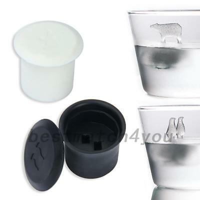 2xPolar Bear Penguin Shape Silicone Ice Cube Mold Mould for Cocktail Whiskey Bar